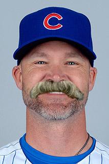 Baseball Mustache - David Ross