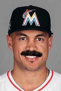 Baseball Mustache - Giancarlo Stanton