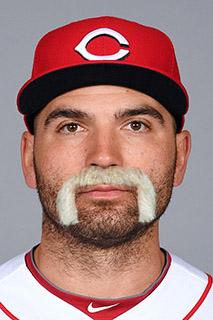 Baseball Mustache - Joey Votto