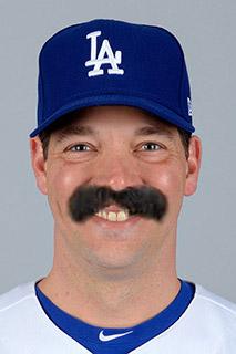 Baseball Mustache - Rich Hill