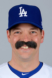 Baseball Mustache - Rich Hill