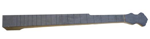 Banjo neck front profile layout.