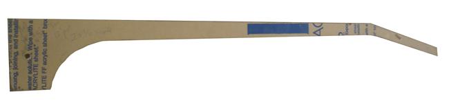 Banjo Neck Side Profile Pattern