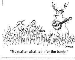 Banjo Humor Through Cartoons