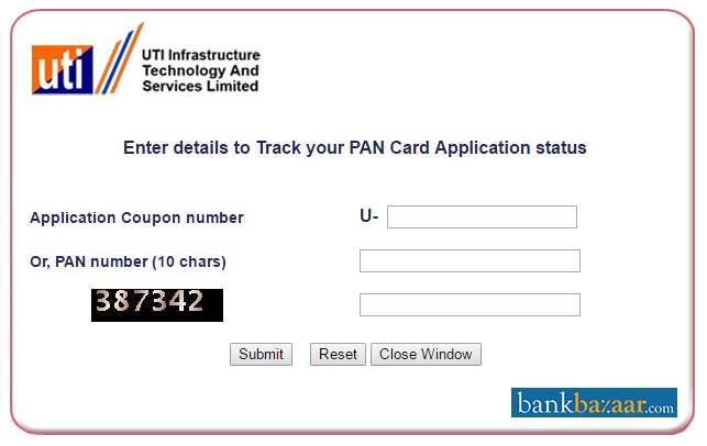 How To Check Pan Card Number Status Howsto Co