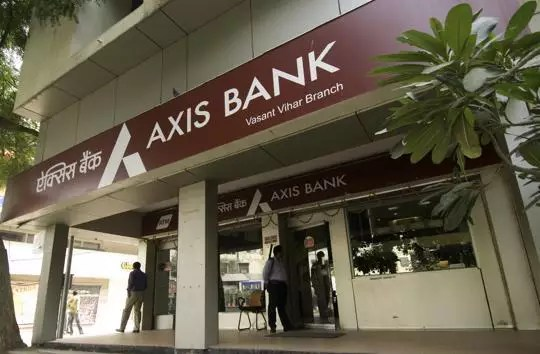 check axis account balance