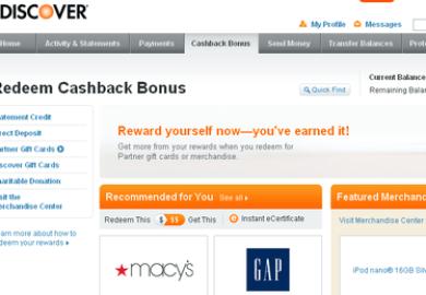 Discover Card Rewards