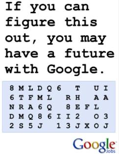 Googel-job-code