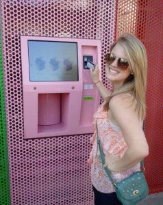 hello kitty cupcake atm machine