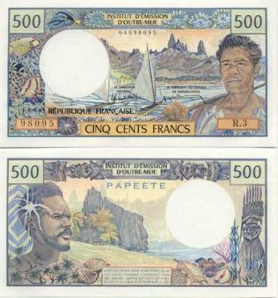 Tahiti Franc - Tahitian Currency Image Gallery - French ...