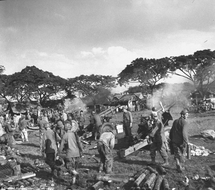 Japanese invade into philippines