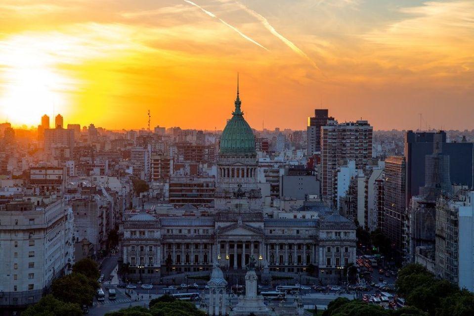 Argentina City sunrise