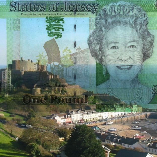 Banknotes of Jersey