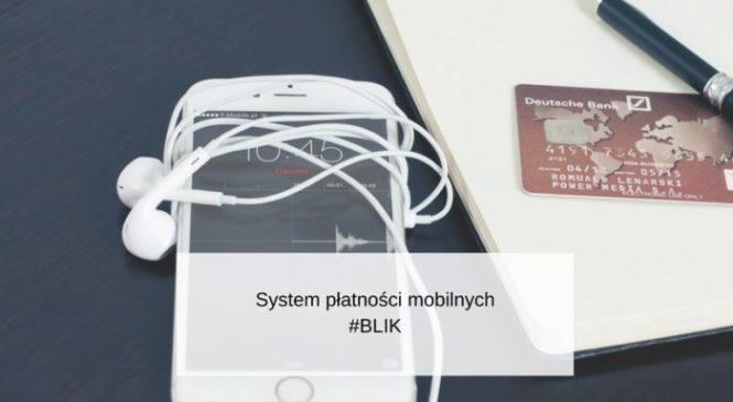 Blik – system płatności mobilnych.
