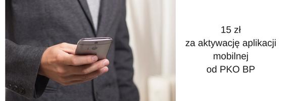 Aplikacja mobilna IKO teraz za 15zł. Płaci bank, nie my ;)