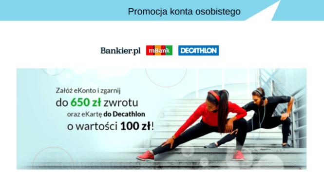 Konto w mBanku z bonusami na ponad 750 zł