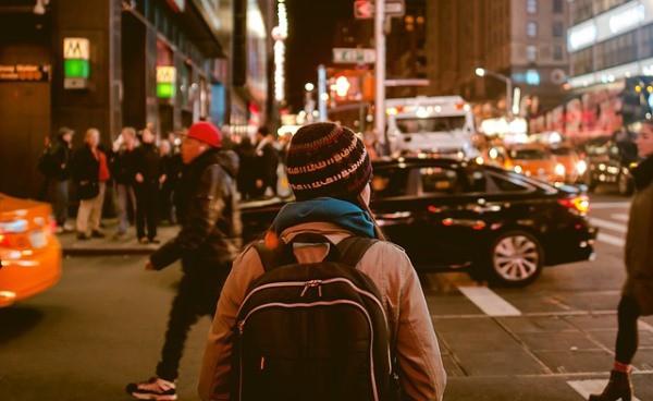 tłum uliczny