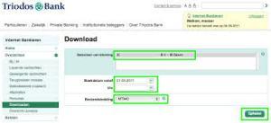 Triodos Bank online bankieren