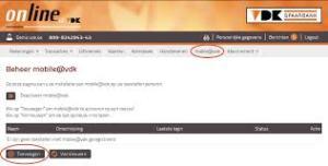 VDK Spaarbank online bankieren