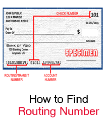How to Find Academy Bank Routing Number on check