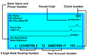 Doing direct deposits with becu routing number |