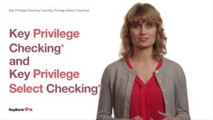 Key Bank Checking and Savings account details