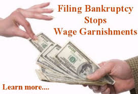 bankruptcy stop wage garnishment