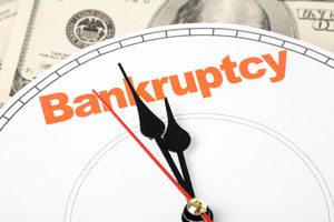 bankruptcy timing