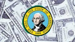 What is the median income in Washington?