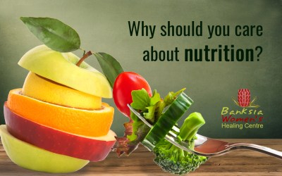 Why should you care about nutrition?