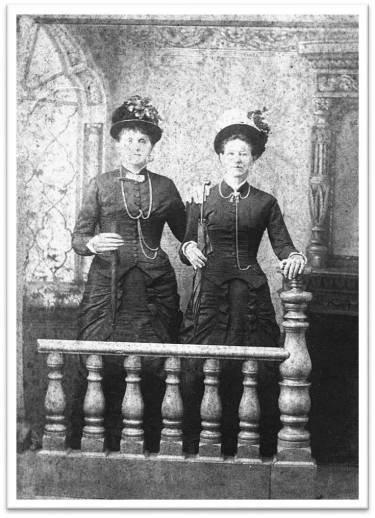 Sallie and Maggie Ross