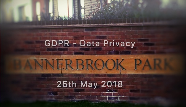 REMINDER – Residents Association – Mailing List Update & Data Protection