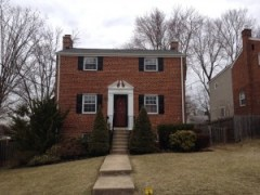 Rock Creek Forest MD colonial for sale
