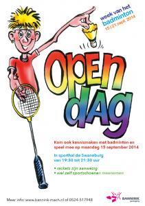Open Dag Flyer
