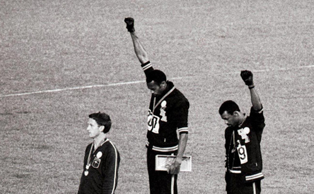 JO 1968 John Carlos, Tommie Smith, Peter Norman
