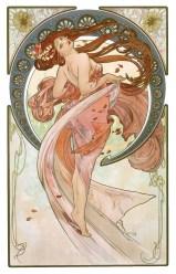 La danse, Alphonse Mucha