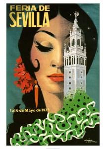 Feria, Seville,Banque de l'image