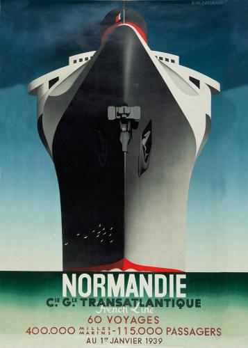 Cassandre-Normandie, Transatlantique