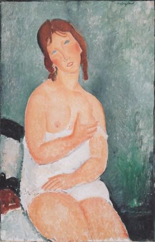 Jeune femme en tee-shirt, Modigliani, 1918