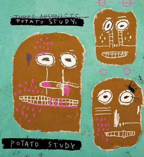 Three Arsonists, 1983 (Potato Study) ©king&mcgaw