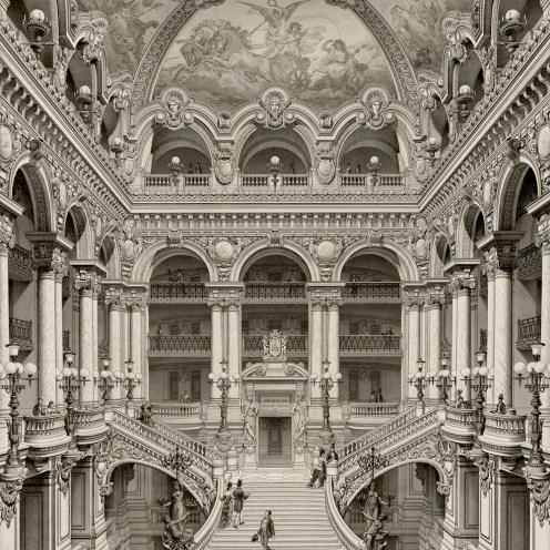 Palais Garnier, Grand Escalier d'Honneur, 1880