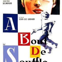 A bout de souffle, 1960, Jean-Luc Godard