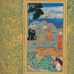 Behzad_advice_ascetic-Advice-of-the-Ascetic,-Moraqqa'-e-Golshan,-conserved-in-Golestan-Palace,-Tehran,-Iran