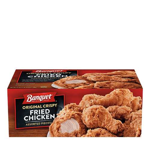 original crispy fried chicken box