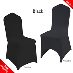 chair covers gray hickory king beds spandex cover for wedding stretch lycra black spand