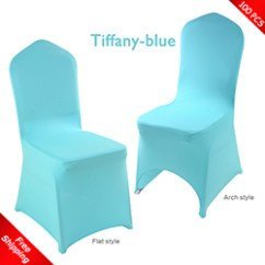 Teal Chair Covers Teen Reading Spandex Cocktail Table Stretch For Wedding Free Shipping 100 Pcs Tiffany Blue