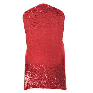 yellow chair covers ergonomic with lumbar support spandex cover for wedding stretch lycra sequin red l