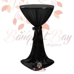 Universal Spandex Chair Covers Canada Ergonomic Kneeling Office Cake Tablecloth For Wedding,ninon Highboy Cocktail Table Cover [is1_ctcy] - $16.99 : Banquet Bar ...