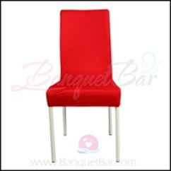 Hot Pink Spandex Chair Covers Macrame Stand Half Banquet Cover Bar Cocktail Table Red Bright Stretch Lycra F