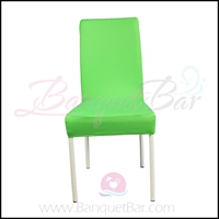 green banquet chair covers car seat desk half cover bar spandex cocktail table wedding stretch lycra f